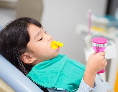 Fluoride treatment provides extra protection from cavities