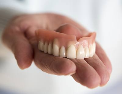 Strong, comfortable and natural looking custom designed dentures